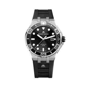 Maurice Lacroix Aikon Venturer Black Rubber Strap Watch - Product number 5694345