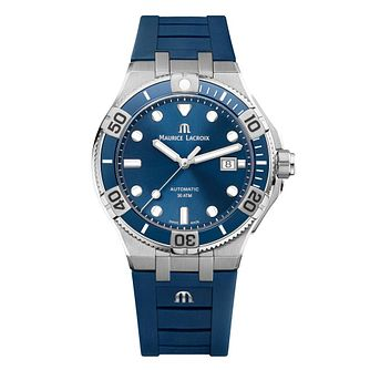 Maurice Lacroix Aikon Venturer Men's Blue Strap Watch - Product number 5694388