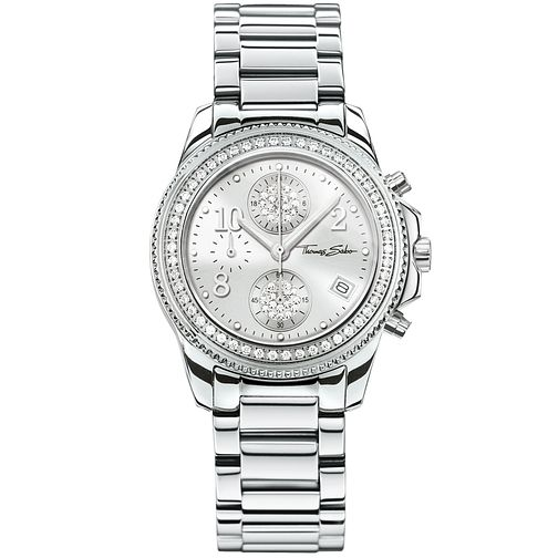 Thomas Sabo Glam Ladies' Stainless Steel Bracelet Watch - Product number 5695031