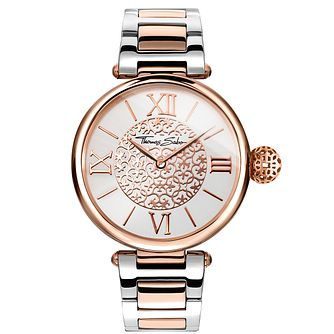 Thomas Sabo Karma Ladies' Two Colour Bracelet Watch - Product number 5695104