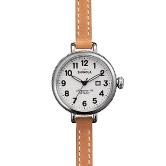 Shinola Birdy Ladies' Stainless Steel Strap Watch - Product number 5696364