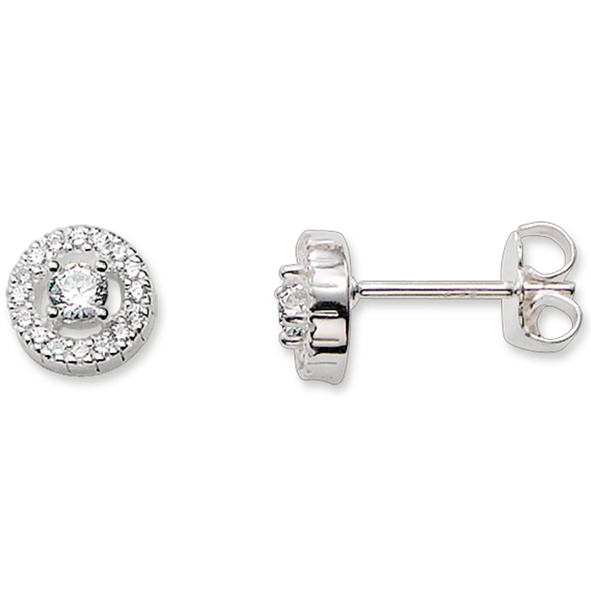 Thomas Sabo Sterling Silver Stone Set Studs - Product number 5697964