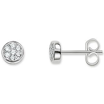Thomas Sabo Sterling Silver Stone Set Studs - Product number 5698049