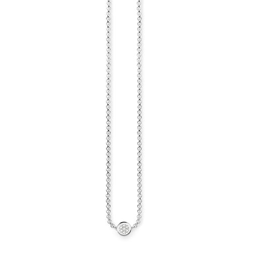 Thomas Sabo Sterling Silver Diamond Necklace - Product number 5698650
