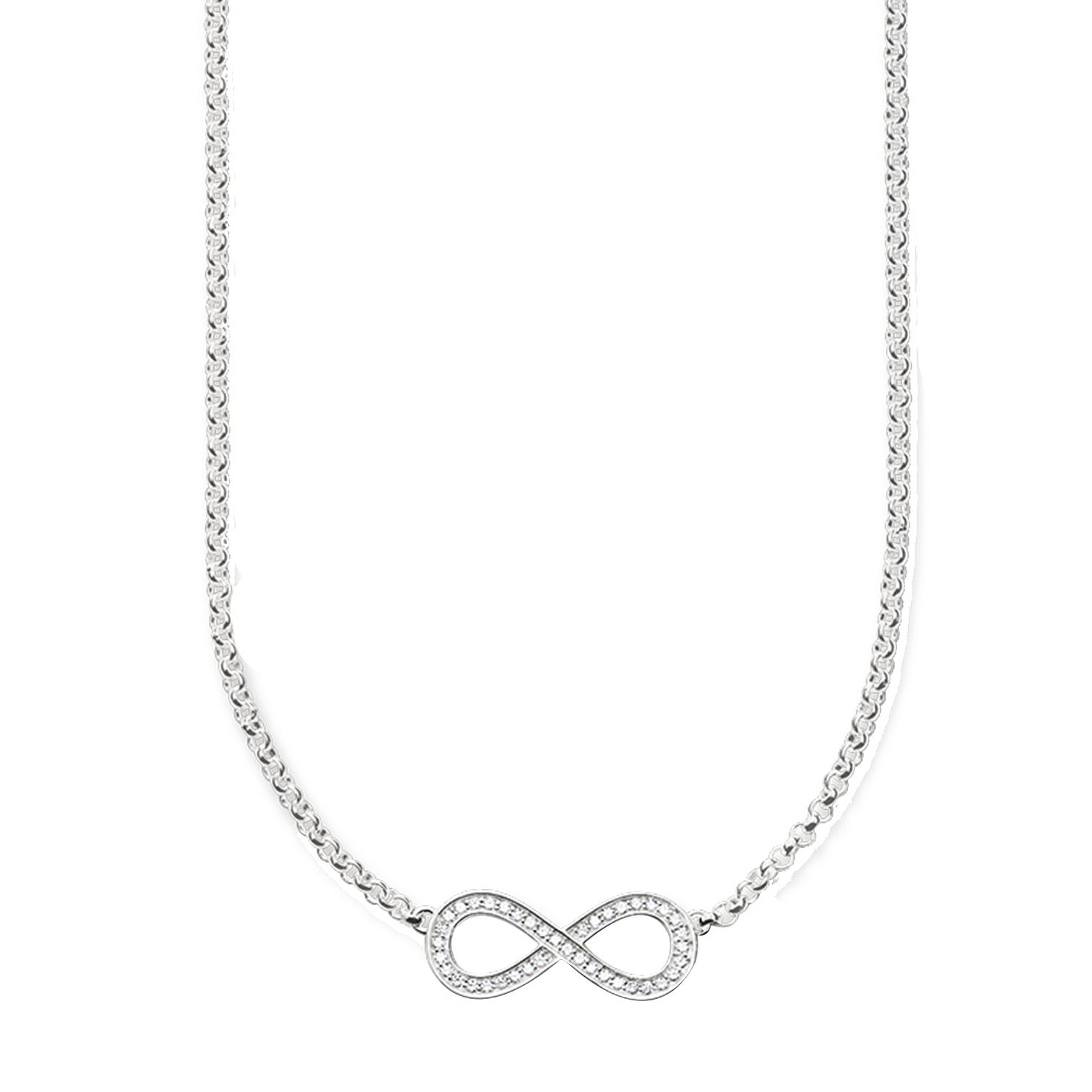 Thomas Sabo Sterling Silver Stone Set Necklace - Product number 5698731