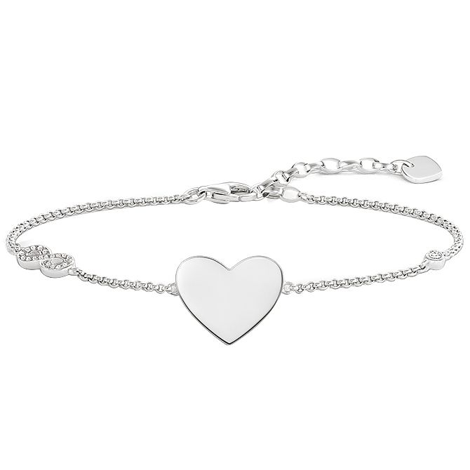 Thomas Sabo Sterling Silver Heart Bracelet - Product number 5699169