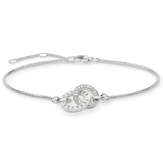 Thomas Sabo Together Forever Silver Cubic Zirconia Bracelet - Product number 5699282