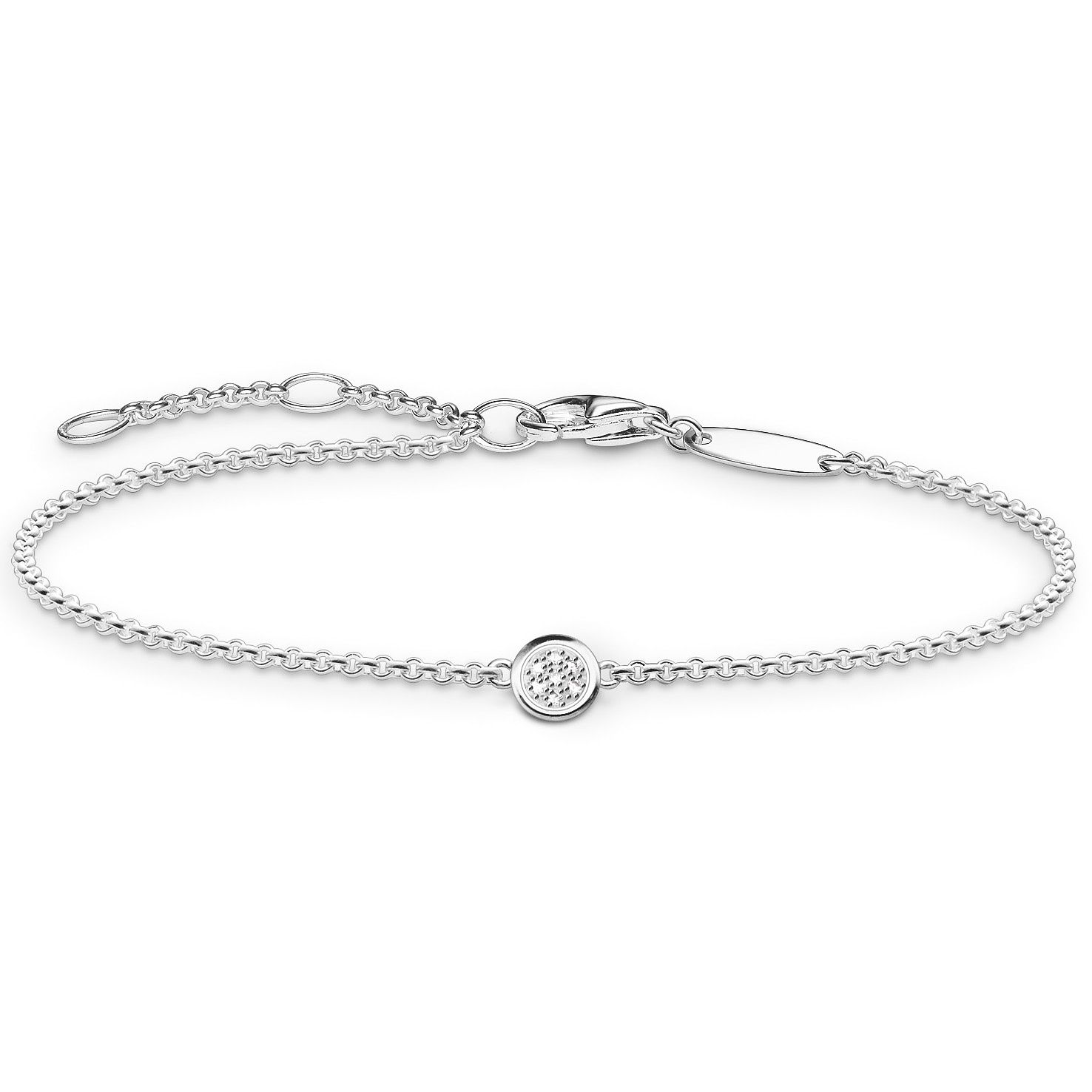 Thomas Sabo Sterling Silver Diamond Bracelet - Product number 5699320