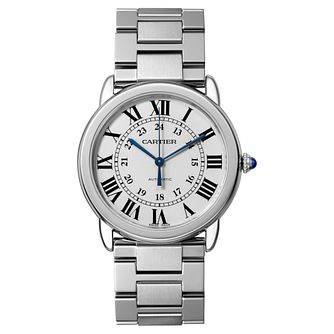 Cartier Ronde Solo Men's Stainless Steel Bracelet Watch - Product number 5703999