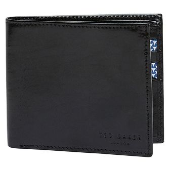 Ted Baker Twopin Men's Black Leather Wallet - Product number 5709571