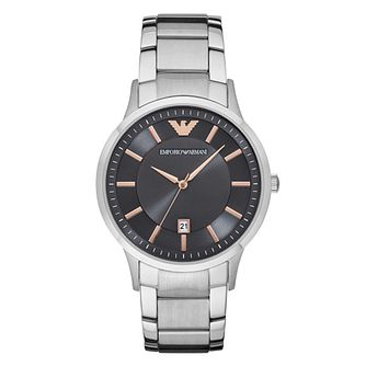 Emporio Armani Men's Stainless Steel Bracelet Watch - Product number 5709776