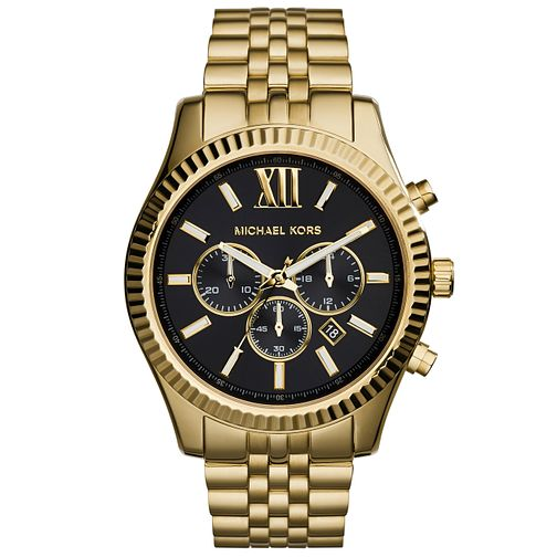 Michael Kors Men's Gold Tone Bracelet Watch - Product number 5712335