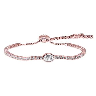 CARAT* LONDON Rose Gold Plated Millenium Bracelet - Product number 5715849