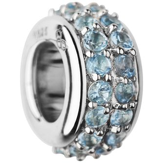 Links of London Sterling Silver Blue Topaz Pave Bead - Product number 5718295