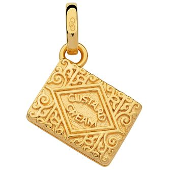 Links Of London Yellow Gold Vermeil Custard Cream Charm - Product number 5718406