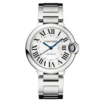 Cartier Ballon Bleu Ladies' Stainless Steel Bracelet Watch - Product number 5724295