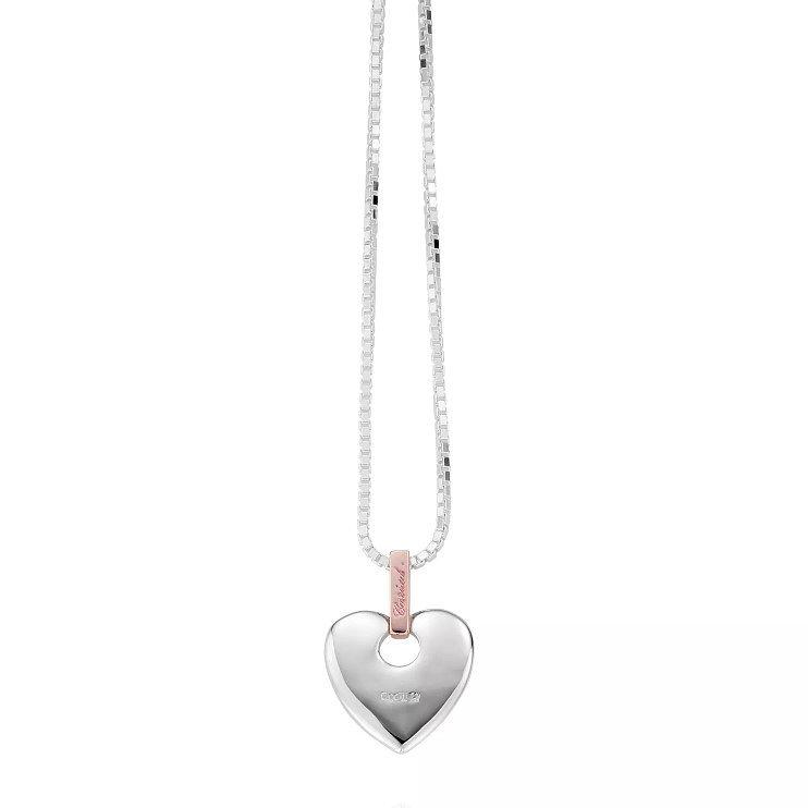 Clogau Gold Ladies Diamond Cariad Pendant Necklace