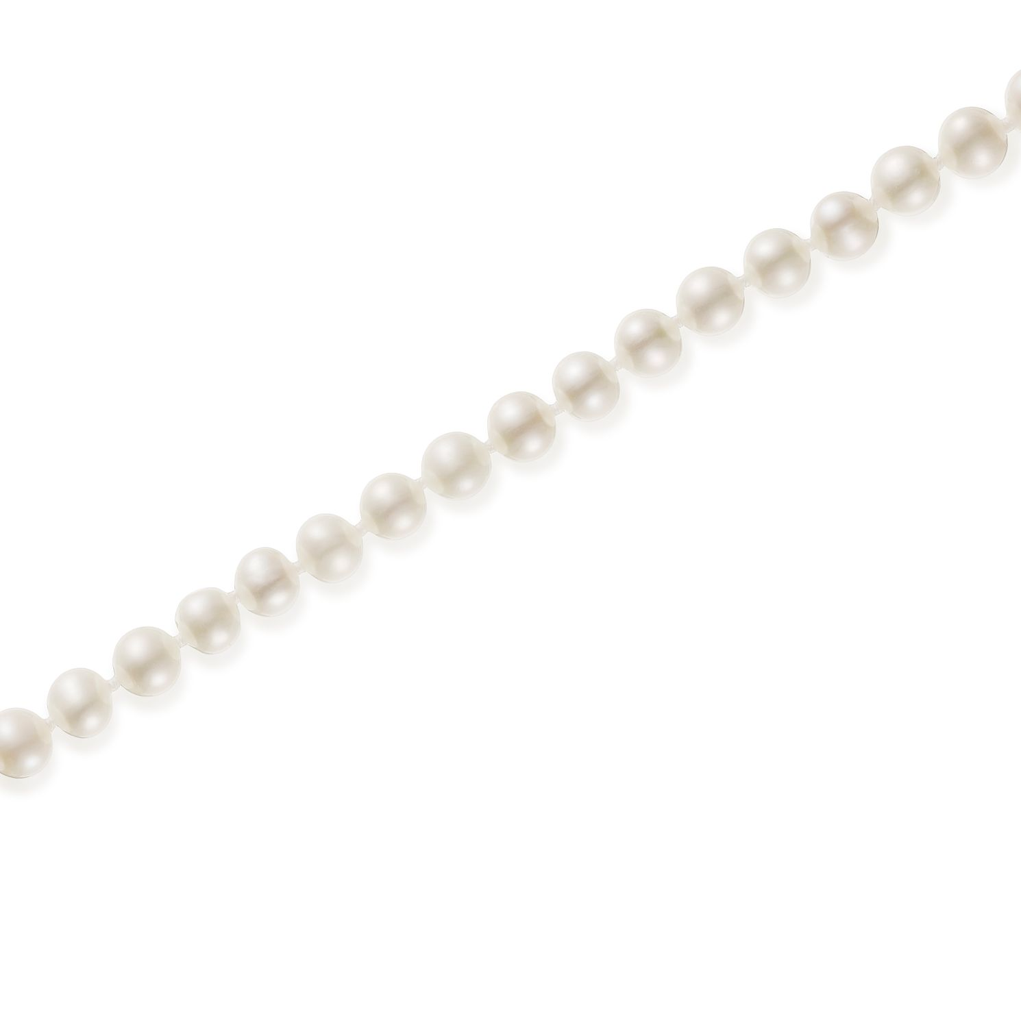 9ct Gold 5mm Cultured Freshwater Pearl 30 inches Necklace - Product number 5819156