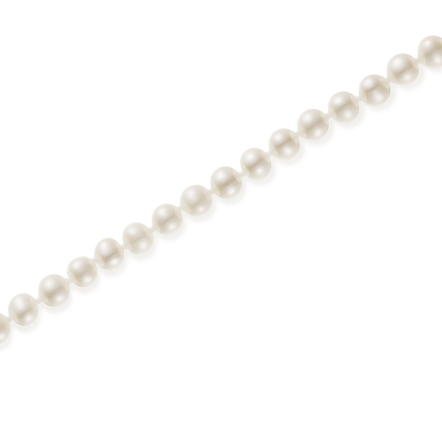 9ct White Gold 6mm Cultured Freshwater Pearl 26