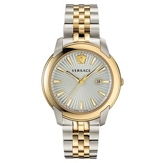 Versace V-Urban Men's Two Tone Bracelet Watch - Product number 5821622