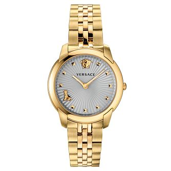 Versace Audrey Ladies' Yellow Gold Tone Bracelet Watch - Product number 5822114