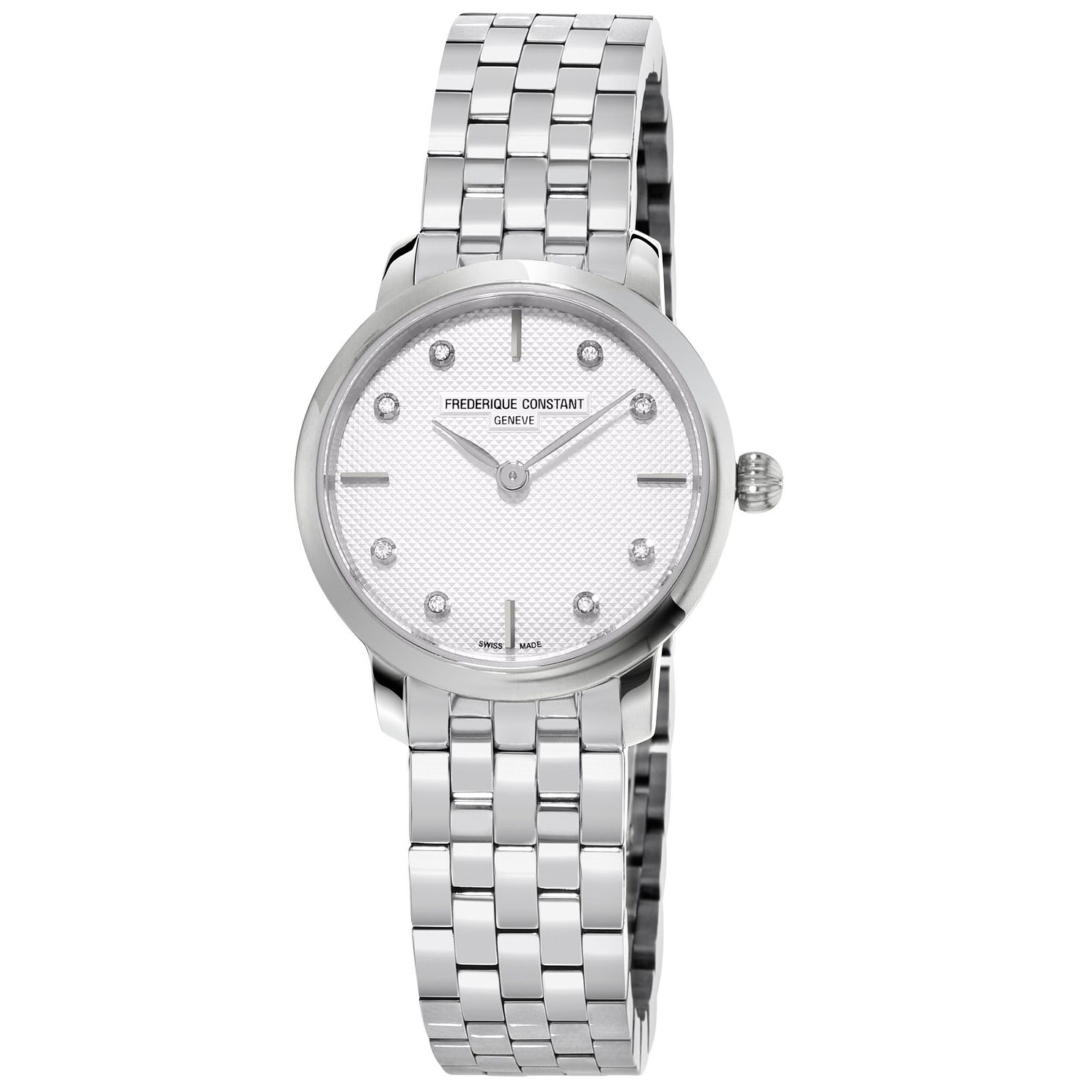 Frederique Constant Slimline Stainless Steel Bracelet Watch - Product number 5824397