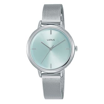Lorus Dress Ladies' Stainless Steel Mesh Bracelet Watch - Product number 5824516