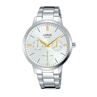 Lorus Multi-Dial Ladies' Stainless Steel Bracelet Watch - Product number 5824524