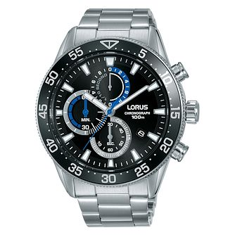 Lorus Chronograph Men's Stainless Steel Bracelet Watch - Product number 5824575