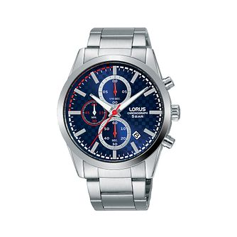 Lorus Chronograph Men's Stainless Steel Bracelet Watch - Product number 5824613