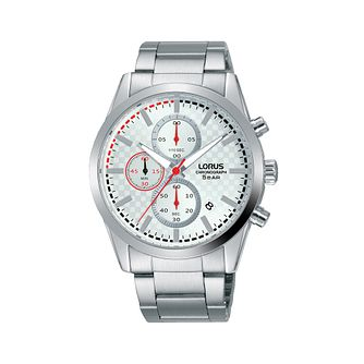 Lorus Chronograph Men's Stainless Steel Bracelet Watch - Product number 5824621