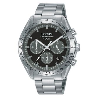 Lorus Chronograph Men's Stainless Steel Bracelet Watch - Product number 5824885