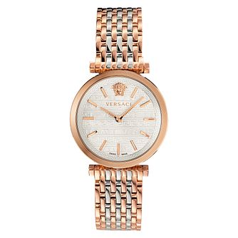 Versace V-Twist Ladies' Two-Tone Bracelet Watch - Product number 5826845