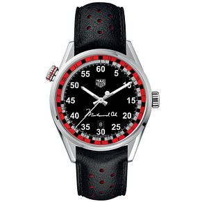 TAG Heuer Carrera Ring Master Black Rubber Strap Watch - Product number 5829437