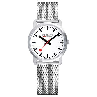 Mondaine SBB Simply Elegant Ladies' Mesh Bracelet Watch - Product number 5837529