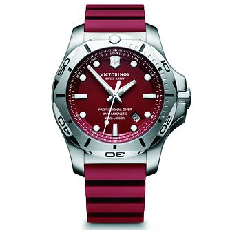 Victorinox Professional Diver Men's Red Rubber Strap Watch - Product number 5838444