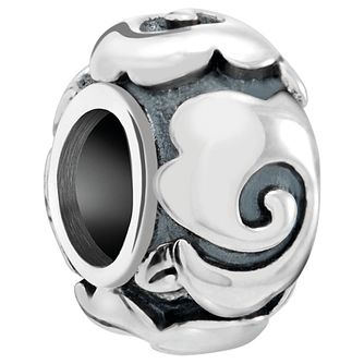 Chamilia Sterling Silver Art Deco Rose Spacer Charm - Product number 5845386