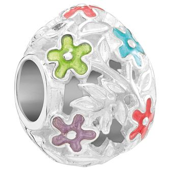 Chamilia Sterling Silver & Enamel Filigree Easter Egg Charm - Product number 5845815