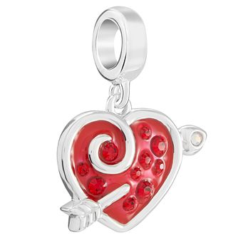 Chamilia Cupid Struck Again Charm with Swarovski Crystal - Product number 5845874