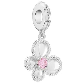 Chamilia Flutter Swarovski Pink Zirconia Charm - Product number 5845882