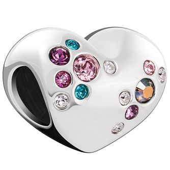 Chamilia Crystal Cluster Heart Charm with Swarovski Crystal - Product number 5845904