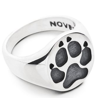 Dog Fever Paw Print Signet Ring - M - Product number 5851068