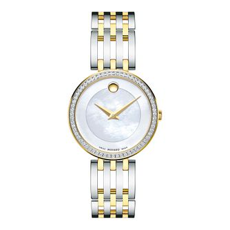 Movado Esperanza Ladies' Two Tone Bracelet Watch - Product number 5851343