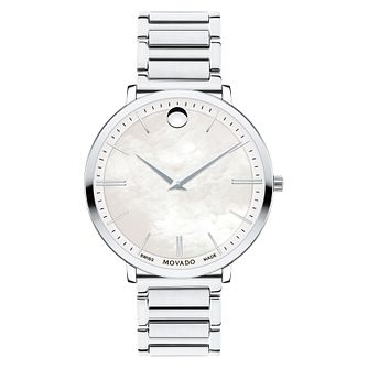 Movado Ultra Slim Ladies' Stainless Steel Bracelet Watch - Product number 5851351