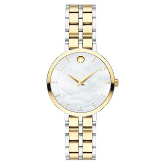 Movado Kora Ladies' Two Tone Bracelet Watch - Product number 5851572