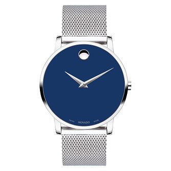 Movado Museum Classic Men's Stainless Steel Bracelet Watch - Product number 5853362