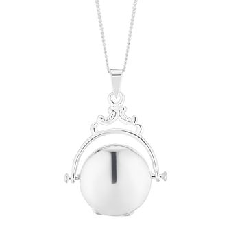 Silver Fob Locket - Product number 5853613