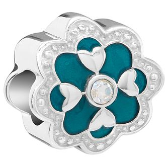 Chamilia Sterling Silver Teal Cherish Bead - Product number 5854148