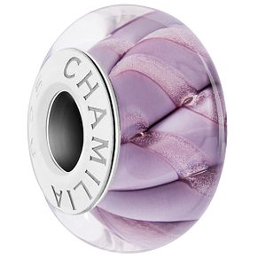 Chamilia Sterling Silver Cascade Ribbon Raspberry Bead - Product number 5854199