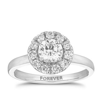 The Forever Diamond 18ct White Gold 1ct Total Ring - Product number 5863759